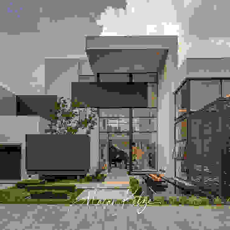House Radomsky Modern houses by Malan Kotze Photography Modern