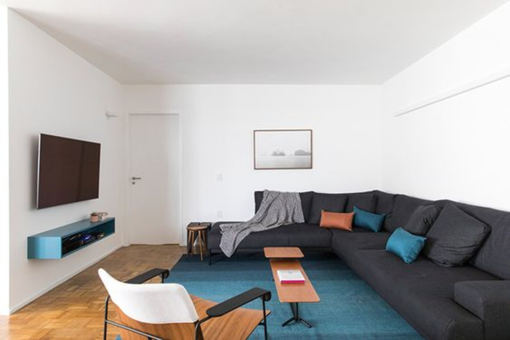 INÁ Arquitetura Salas/RecibidoresSofás y sillones