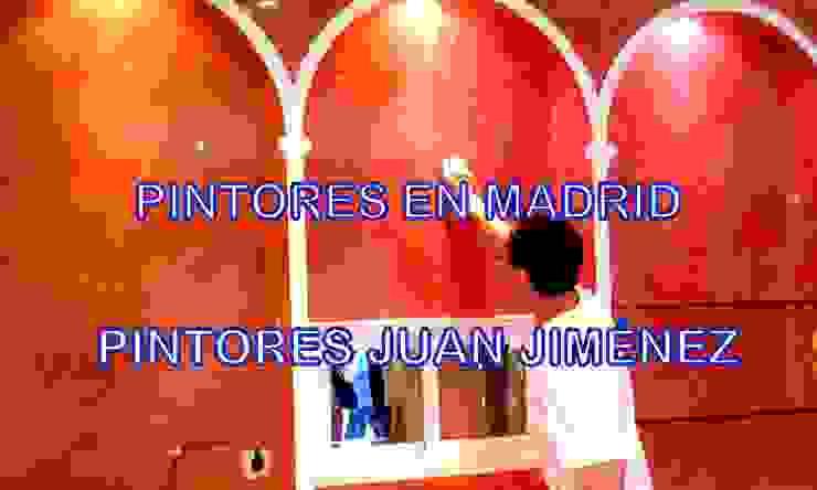 Aplicación de estuco en mural de joyería Pintores Juan Jiménez Centros comerciales de estilo clásico Rosa