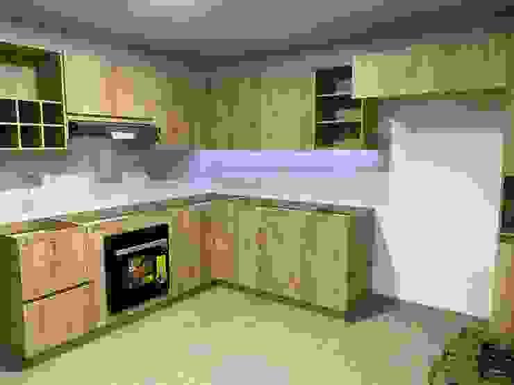 cocina sabaneta Cocinas modernas de spatium consilium Moderno Aglomerado