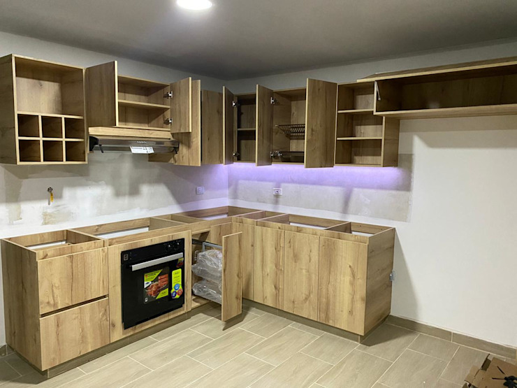 cocina sabaneta Cocinas modernas de spatium consilium Moderno