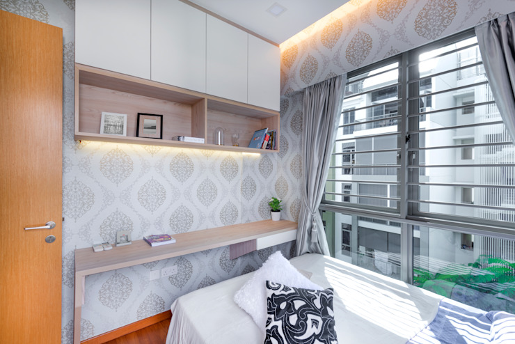 Project : 15A Toh Tuck Road #05-xx (condo): country  by E modern Interior Design,Country