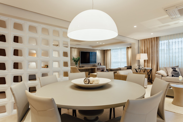 RUTE STEDILE INTERIORES Modern dining room