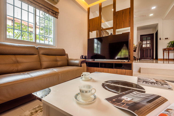 Project : 280 West Wood Ave: asian  by E modern Interior Design,Asian