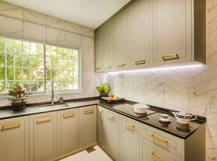Project : 280 West Wood Ave: scandinavian  by E modern Interior Design,Scandinavian