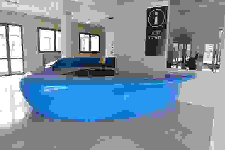 Arbloc Tiendas y espacios comerciales Plástico Azul