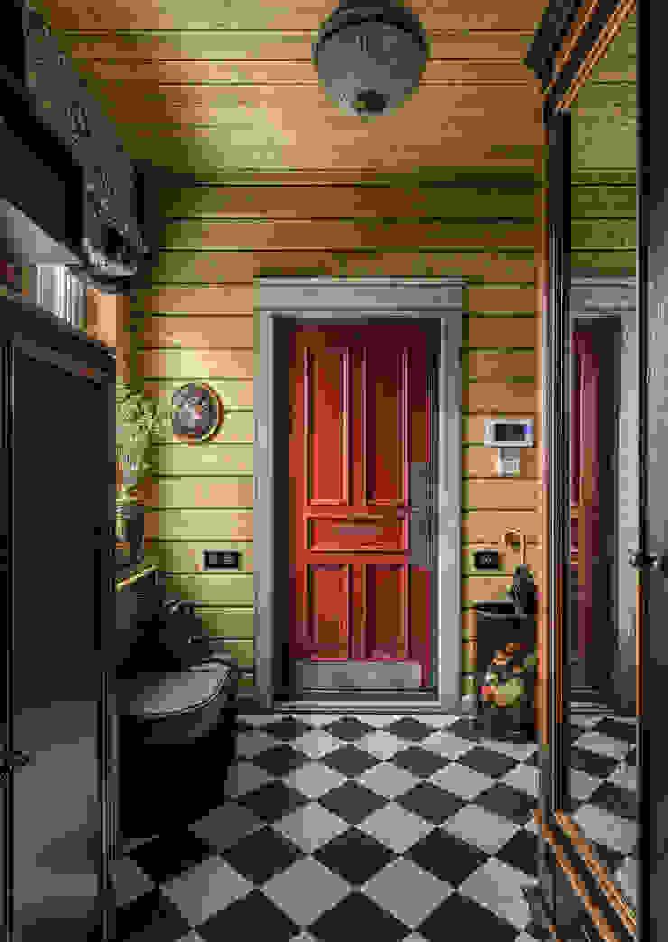 Дизайнер Ольга Айсина Classic style corridor, hallway and stairs