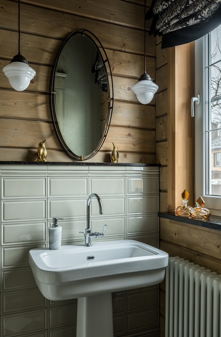 Дизайнер Ольга Айсина Classic style bathroom