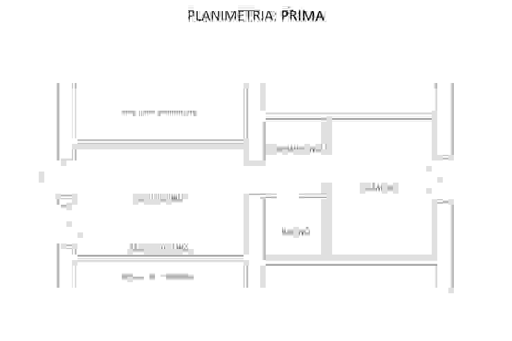 Planimetria: Prima di GruppoTre Architetti Mediterraneo