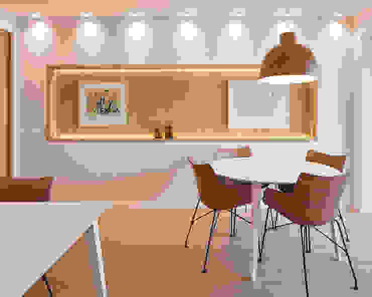 Oficinas Trafalgar Estudios y despachos de estilo moderno de ESTUDIO DE CREACIÓN JOSEP CANO, S.L. Moderno