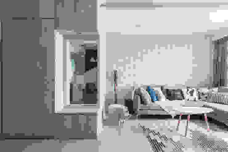 Nordic-Inspired Modern living room by Meter Square Pte Ltd Modern Wood Wood effect