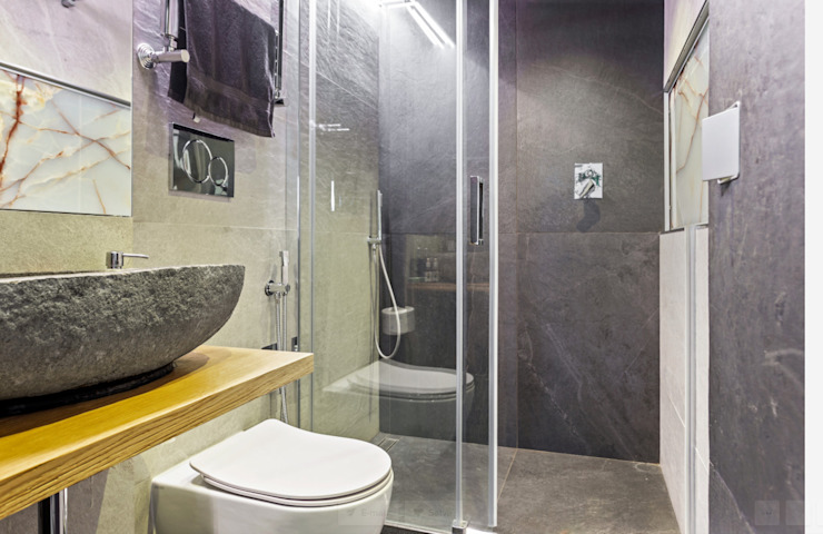 Loft Stile Industriale Bagno in stile industriale di Dr-Z Architects Industrial