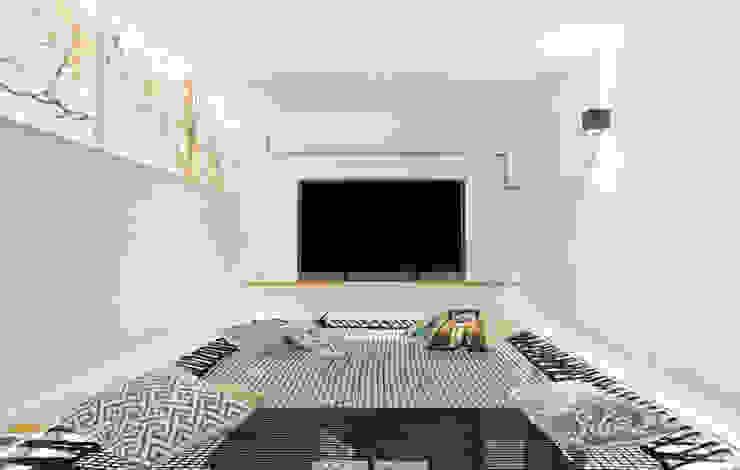 Loft Stile Industriale Sala multimediale in stile industriale di Dr-Z Architects Industrial