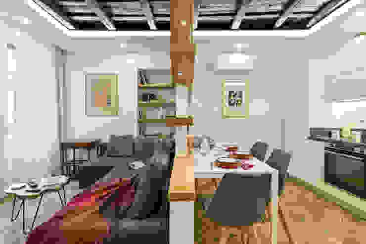 Soggiorno Soggiorno moderno di Dr-Z Architects Moderno