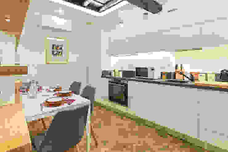 Cucina-Pranzo Dr-Z Architects Cucina moderna