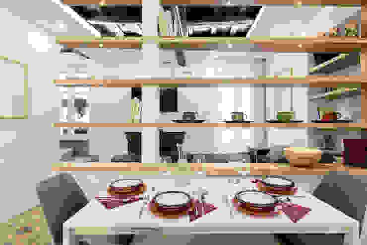 Area Pranzo Dr-Z Architects Sala da pranzo moderna