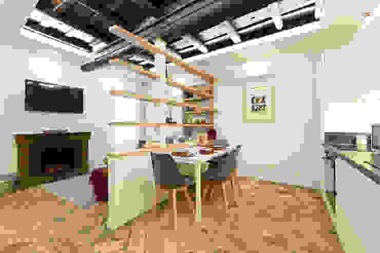Soggiorno-Pranzo Dr-Z Architects Sala da pranzo moderna