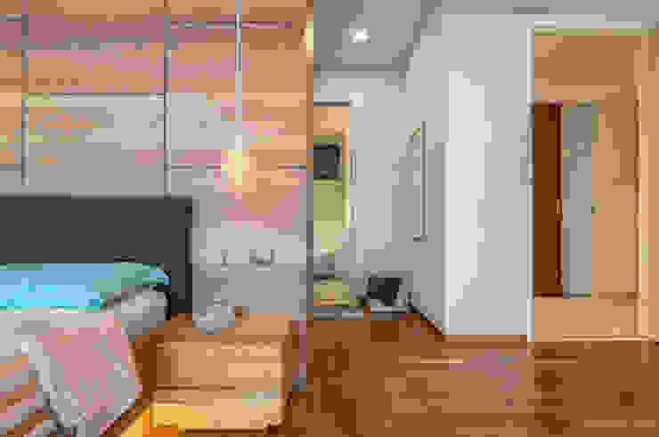 Scandinavian Meter Square Pte Ltd Scandinavian style bedroom Wood White
