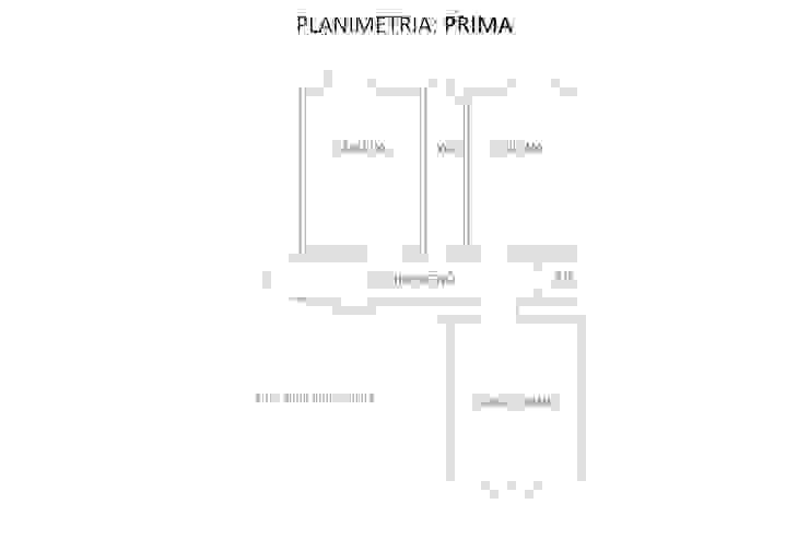 Planimetria: Prima di GruppoTre Architetti Minimalista