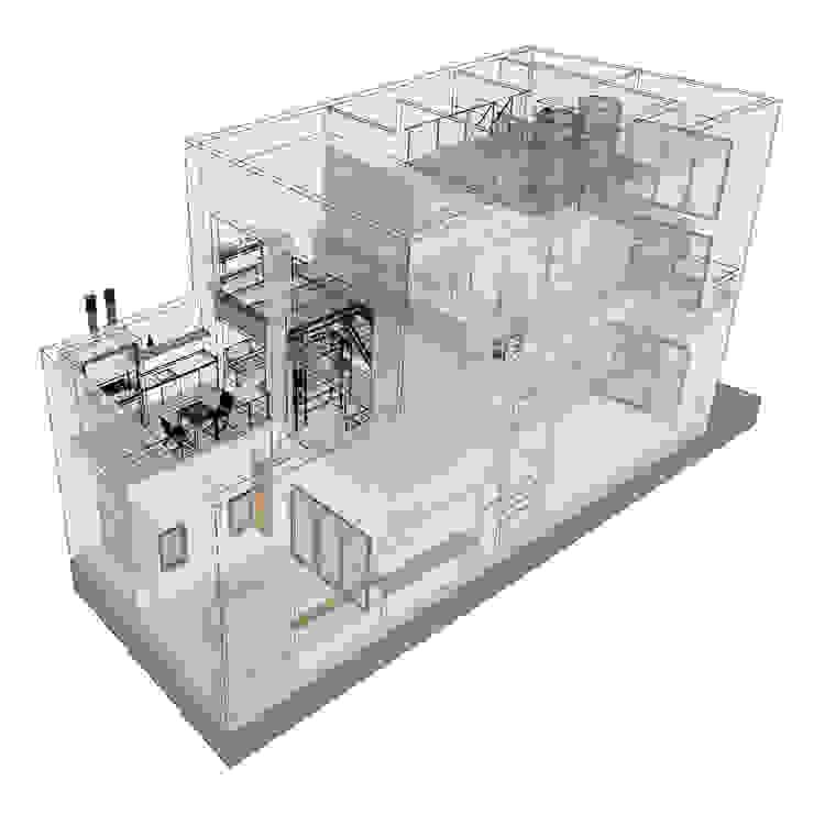 D4-Arquitectos Multi-Family house White