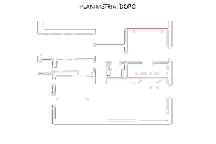 Planimetria: Dopo di GruppoTre Architetti Moderno