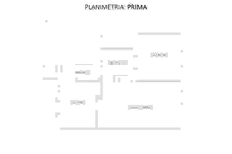Planimetria: Prima di GruppoTre Architetti Moderno