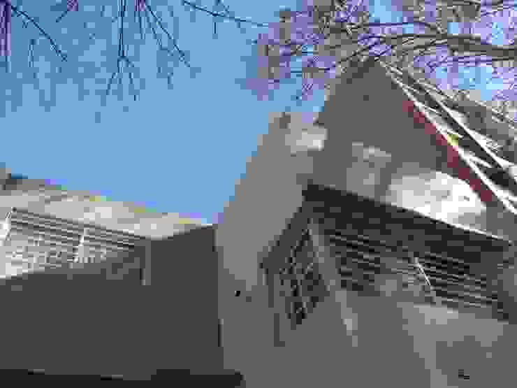 D4-Arquitectos Casas familiares Pedra Bege