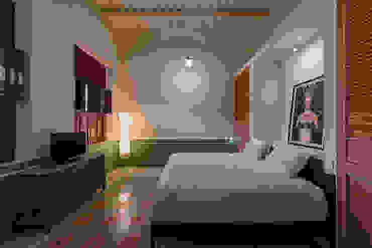 Taller Estilo Arquitectura モダンスタイルの寝室 緑