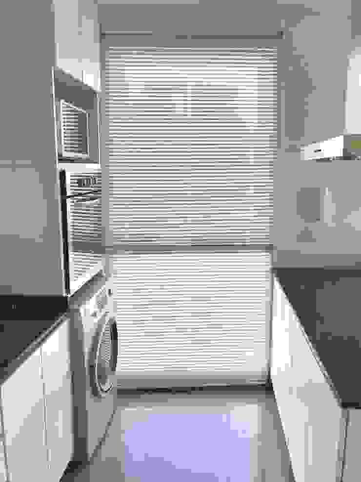 Departamento Bustamante - Cocina 04 de D4-Arquitectos Moderno Vidrio