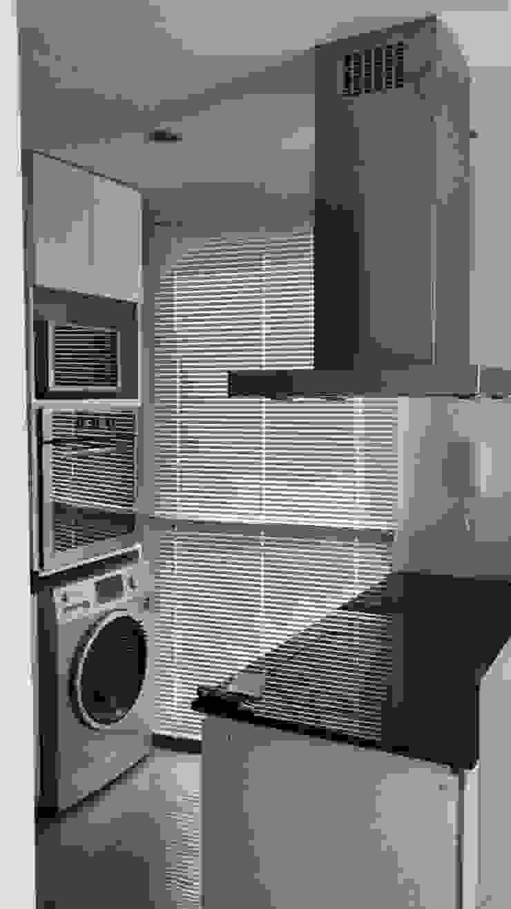 Departamento Bustamante - Cocina 05 de D4-Arquitectos Moderno Vidrio