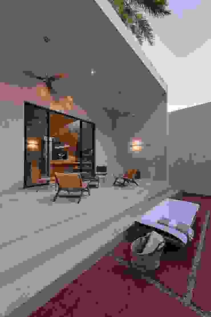 Taller Estilo Arquitectura Modern terrace
