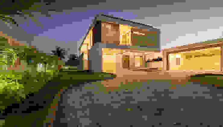 PAR LE MER - Beach house at chennai Offcentered Architects Modern houses