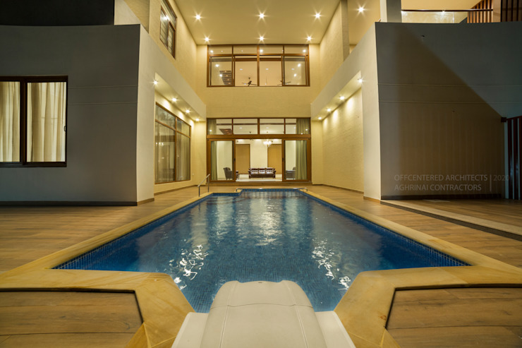 Hassle free swimming pool designs Offcentered Architects Minimalist pool