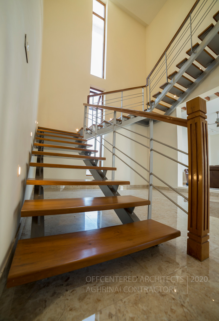 Signature customized stair designs Offcentered Architects Stairs