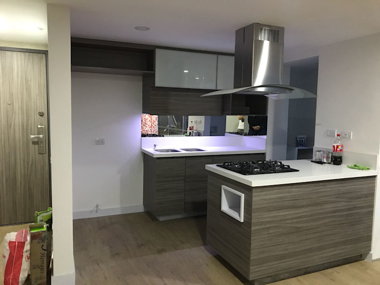 spatium consilium Built-in kitchens Chipboard