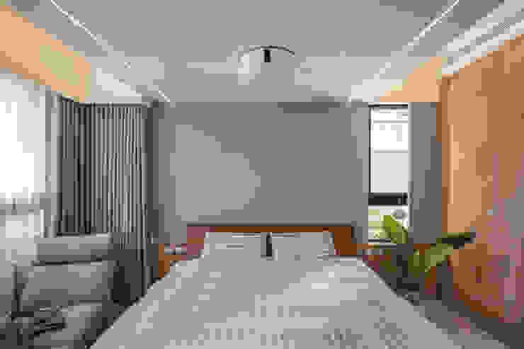 主臥室 根據 FEELING室內設計 日式風、東方風
