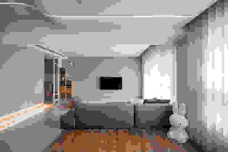 客廳 根據 FEELING室內設計 日式風、東方風