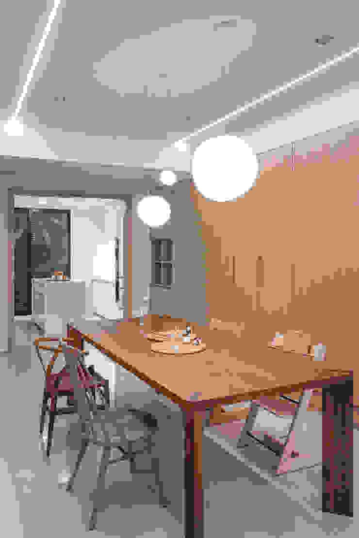 餐廳區 根據 FEELING室內設計 日式風、東方風
