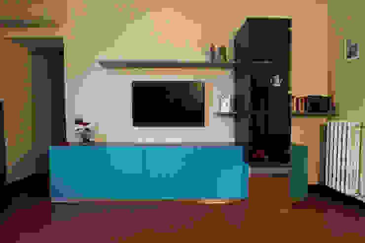 armadio Marcello Cesini Architetto Soggiorno minimalista
