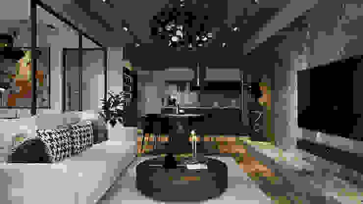 RIKATA DESIGN Salon moderne