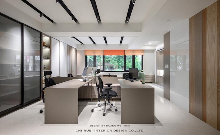 綺瑞室內設計辦公室 根據 綺瑞室內裝修設計工程有限公司 現代風