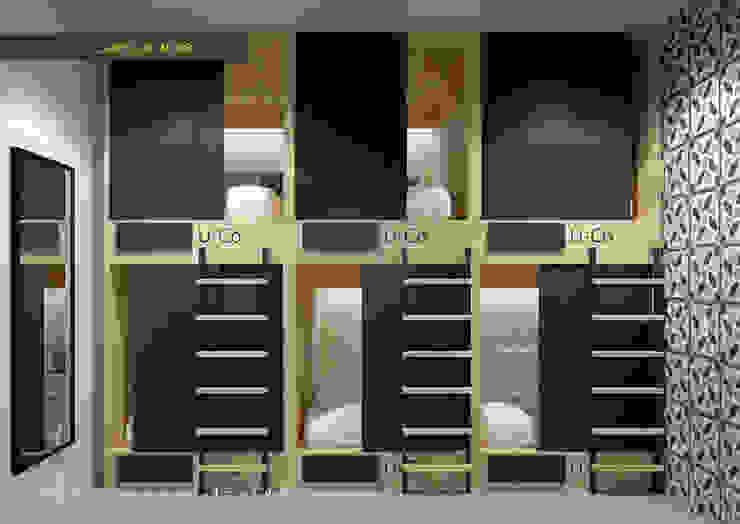 phòng tập thể: hiện đại  by LAGOM STUDIO BOX, Hiện đại