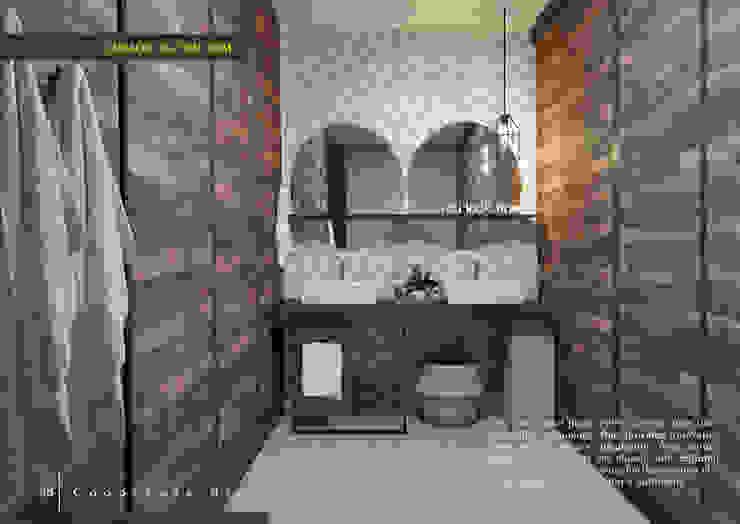 phòng tắm: hiện đại  by LAGOM STUDIO BOX, Hiện đại