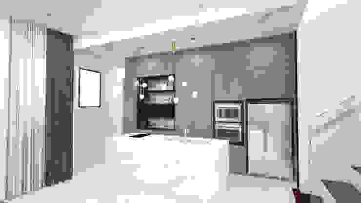 Semi D- Sejati ( Cyberjaya) Minimalist dining room by Dterri Interior Design Minimalist
