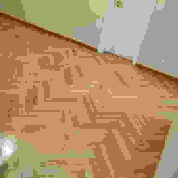 Raspagem de piso de madeira MaisonAccessoires & décoration Bois Marron