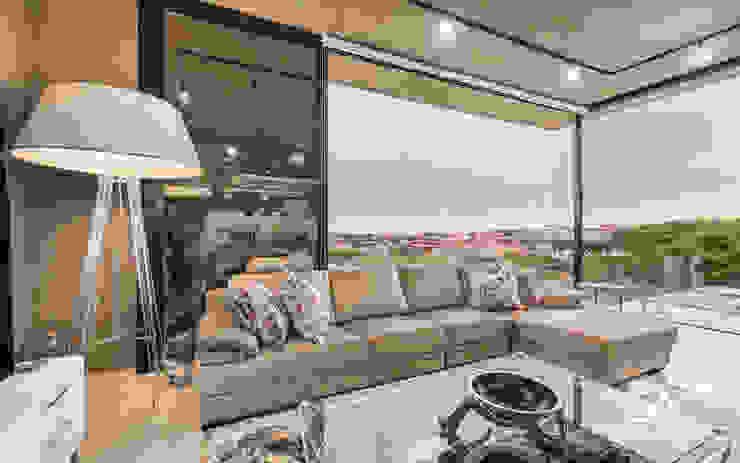 Casa F1 Modern living room by Gottsmann Architects Modern