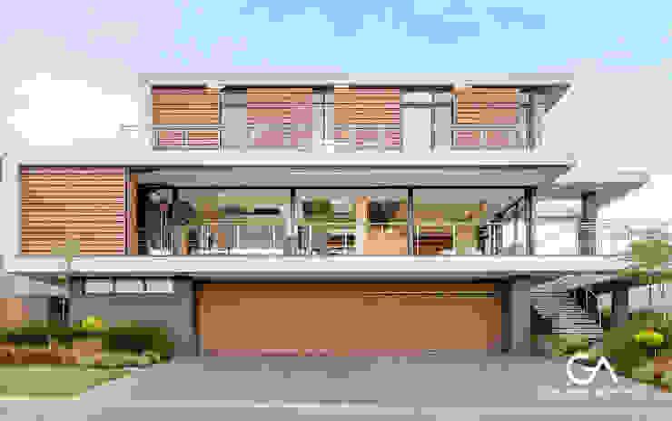 House Vista Modern houses by Gottsmann Architects Modern Wood-Plastic Composite