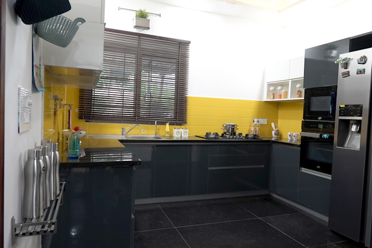 Modern Kitchen HomeLane.com Kitchen units