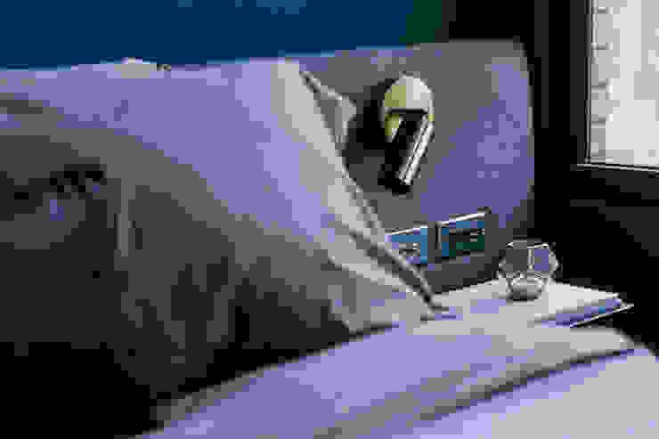 在家躺好 ft.腦公視角: 極簡主義  by 漢玥室內設計, 簡約風