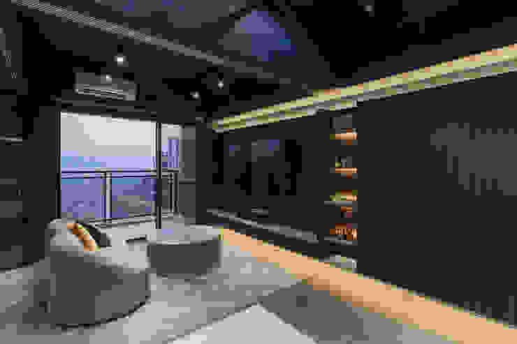 漢玥室內設計 SoggiornoIlluminazione Grigio